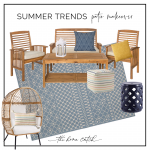 chic and affordable patio makeover